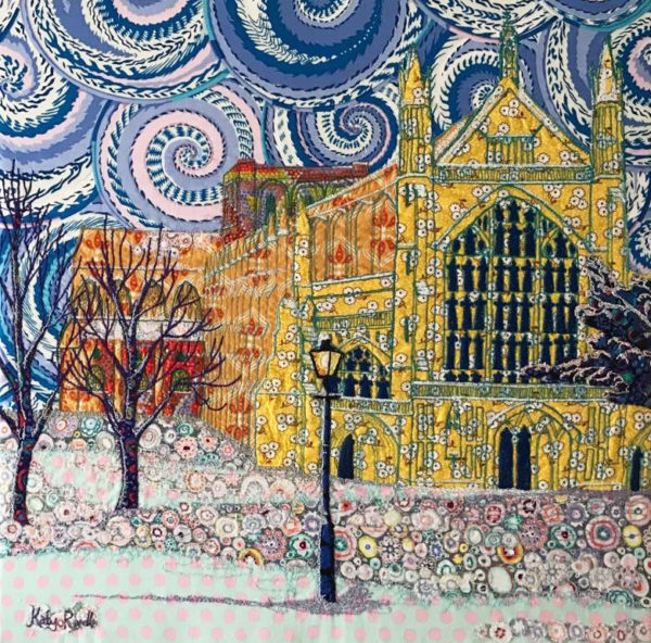 Katy Rundle artist Winchester Cathedral