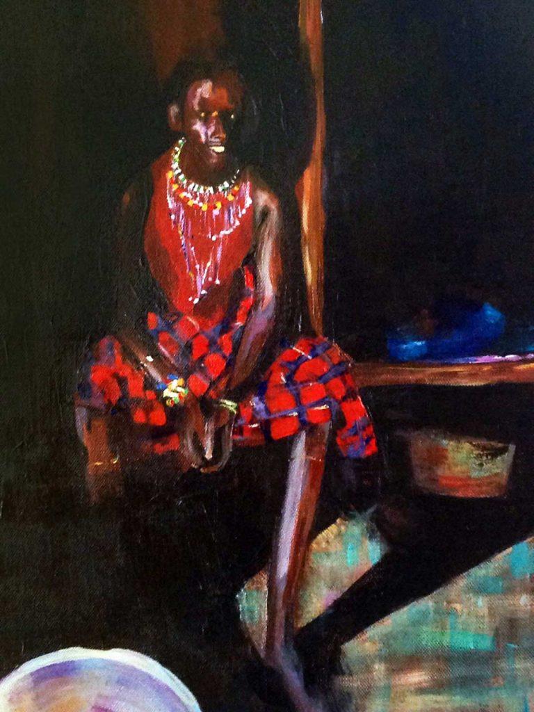 katy rundle masai warrior